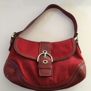Coach Red Purse NWOT